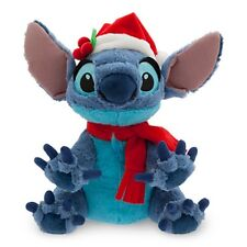 LILO & STITCH SANTA STITCH HOLIDAY PLUSH GENUINE AUTHENTIC DISNEY PARKS ITEM