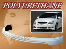 FOR 11-12 CHEVY CRUZE T-4 FRONT BUMPER LIP BODY SPOILER KIT POLYURETHANE PU