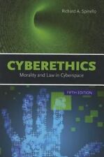 NEW Computer Book CYBERETHICS MORALITY & LAW CYBERSPACE Spinello 2014 Paperback