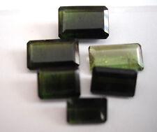 16,91 ct - Lot de 6 Tourmalines Vertes du Brésil