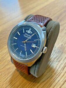 Vivienne Westwood Belsize VV136BLBR Men's Watch - Leather Strap  RRP £265 Unworn