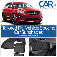 Volvo XC60 5dr 2009 on UV CAR SHADES WINDOW SUN BLINDS PRIVACY GLASS TINT BLACK