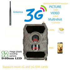 HD S880G1080P 12MP Hunting Trail Camera 3G Network GSM MMS Game Wide Lens Cam