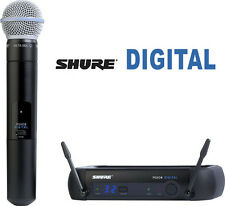Shure PGXD24/Beta58A Digital UHF Diversity Wireless Microphone Mic System
