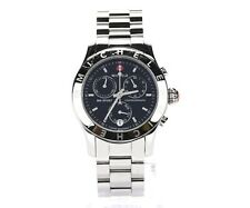 MICHELE Womens CXSport Silver Tone Stainless Steel 36mm Watch 132435