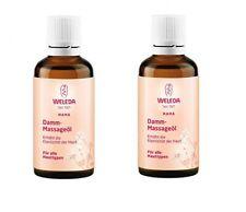 2 x Weleda parineum Huile de massage pour mère-tous types de peau - 50 ml