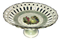 Arnart Creation Japan Courtship Vintage Original 55/1125 Cut Out Pedestal Dish!