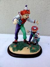 "Danbury Mint Barnum Classic Clowns "" Learning New Tricks "" Very Detailed Figure"