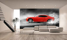 Sports Car Wall Mural Photo Wallpaper GIANT DECOR Paper Poster Free Paste