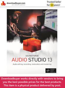 MAGIX Sound Forge Audio Studio 13 - [Boxed]