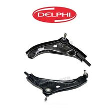 For Mini Cooper Set of 2 Front Lower Control Arms Delphi 31126772301 31126772302