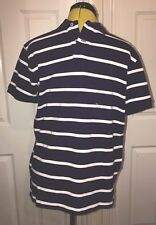 BNWT Ralph Lauren Purple/White Stripe Polo Shirt Size M. Gift Idea!