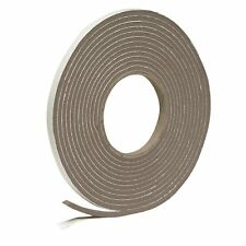 "Frost King 3/8"" X 17' Brown Vinyl Foam Weather Seal W/ Self Stick Tape"