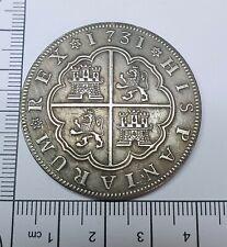 Restrike 1731 Spain 8 Reales Spanish Coin Rare