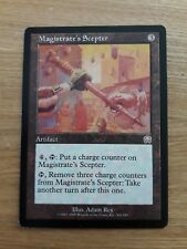 Magic The Gathering Cards - Mercadian Masques - Magistrate's Scepter
