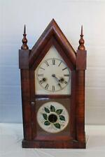 Antique Gilbert Rosewood Steeple Clock ~ Circa Late 1860's ~