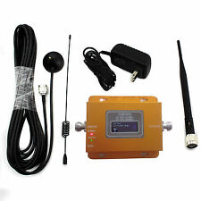 LCD 900MHz Mobile Cell Phone Signal Repeater Booster Amplifier & Antenna GSM 980