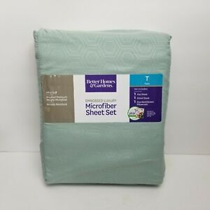 Better Homes /& Gardens Teal Embossed Luxury MICROFIBER Pillowcases Queen New