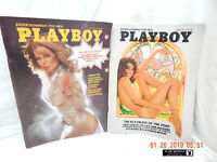 PLAYBOY-VINTAGE ISSUES-JUNE, 1975 & JULY, 1975-PREVIOUSLY OWNED-ENJOYED-AS IS!