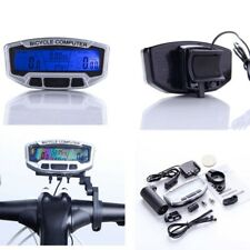 LCD Bicyclette Cyclisme Velo ordinateur kilometrique Compteur de vitesse S9O3