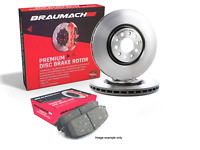 Front Set Brake Pads + Disc Rotors for Holden Commodore Sportwagon VE Wagon 6.0