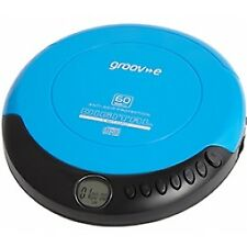 Groov-e GVPS110BE Retro Series Personal CD Player - Blue