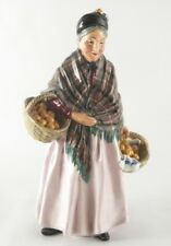 Royal Doulton Orange Lady HN1759 Made In England 812548  Old Lady Figurine