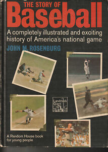 """""""THE STORY OF BASEBALL HEROES"""" 1972 VINTAGE HARDBACK BOOK COVER HAS SOME WEAR"""