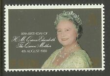ST HELENA 1980 80th Birthday QUEEN ELIZABETH QUEEN MOTHER 1v MNH