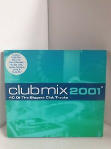 CLUBMIX 2001 VARIOUS ARTISTS 2 CD SET 40 OF THE BIGGEST CLUB TRACKS
