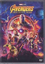 Dvd Marvel AVENGERS ~ INFINITY WAR Thor Iron Man Hulk Captain America nuovo 2018