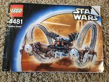 Lego Hailfire Droid Set # 4481 instruxtion Manual