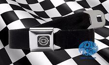 New Chevrolet Chevy Authentic Black Seatbelt Belt Buckle Down