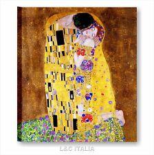 Klimt Il bacio Quadro su tela 60x70 cm autori famosi arredo qualsiasi ambiente