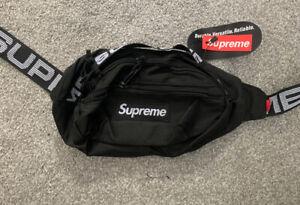 Supreme  SS18 Shoulder/Waist Bag Black