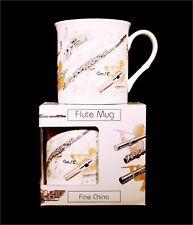 Fine China Mug - Flute Design Kitchenware Kitchenware