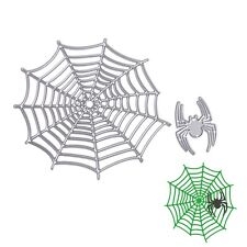 Metal Spider and Net Cutting Dies Stencil For DIY Scrapbooking Paper Cards Decor