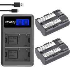 BP-511 Battery + Dual Charger for Canon EOS 5D 10D 20D 30D 40D 50D 1D D60 300D