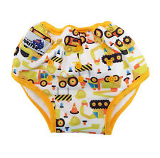 Diggers Bamboo Toilet Training Pants - Waterproof Adjustable Size + Pocket