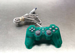 Authentic Sony PSone SCPH-110 Controller - PlayStation 1 Slim PS1 Green
