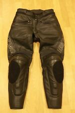 Men's DAINESE Leather Motorcycle Motorbike Pants Trousers SIZE EU 50
