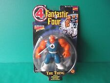 "Fantastic Four The Thing 5.5""in Action Figure 1996 Toy Biz Marvel Comics"