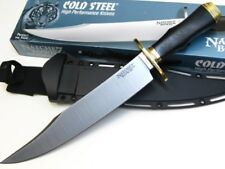 Cold Steel Micarta Natchez Bowie Fixed O-1 High Carbon Knife + Sheath 39LABMS