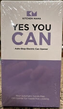 Kitchen Mama Yes you Can Auto Stop Electric Can Opener Purple