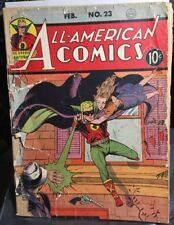 ALL AMERICAN COMICS #23 Green Lantern Fair