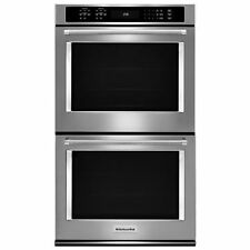 KitchenAid KODE500ESS Double Wall Oven w/ Even Heat True Convection