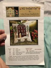 """Little House Needleworks cross stitch pattern -- """"Red House in Winter"""""""