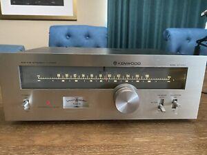 Vintage Kenwood KT-5300 AM/FM Stereo Tuner  WORKS!