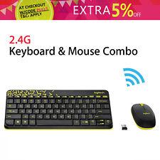 Wireless Logitech MK240 NANO Keyboard and Mouse Pack Set 1000dpi Gaming Usage