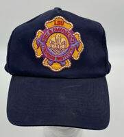 Vintage LSU Firemen Training Snapback Trucker Hat Patch CAP hipster